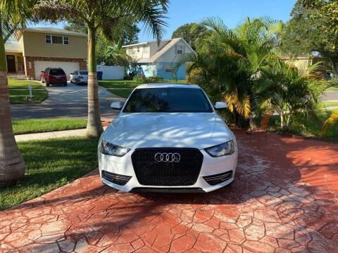 2013 Audi A4 for sale at ONYX AUTOMOTIVE, LLC in Largo FL