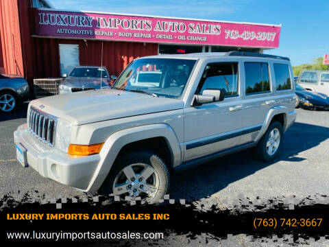 2008 Jeep Commander for sale at LUXURY IMPORTS AUTO SALES INC in North Branch MN