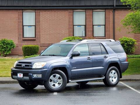 2004 Toyota 4Runner for sale at SEATTLE FINEST MOTORS in Lynnwood WA