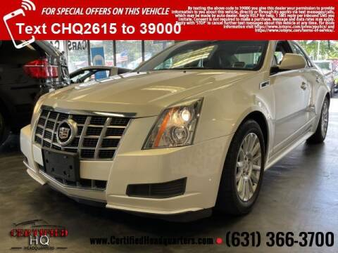 2012 Cadillac CTS for sale at CERTIFIED HEADQUARTERS in Saint James NY