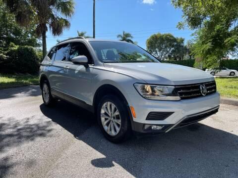 2018 Volkswagen Tiguan for sale at DELRAY AUTO MALL in Delray Beach FL