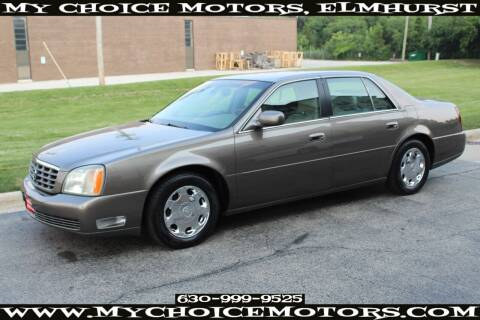 2002 Cadillac DeVille for sale at Your Choice Autos - My Choice Motors in Elmhurst IL