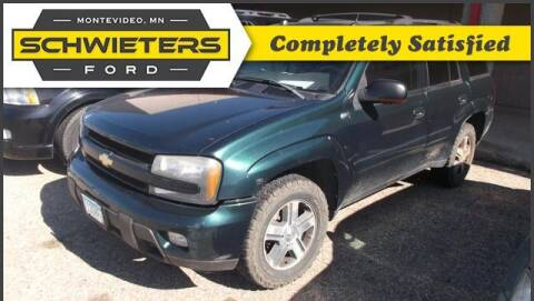 2005 Chevrolet TrailBlazer for sale at Schwieters Ford of Montevideo in Montevideo MN