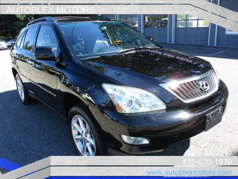 2008 Lexus RX 350 for sale at Autoplex Motors in Lynnwood WA