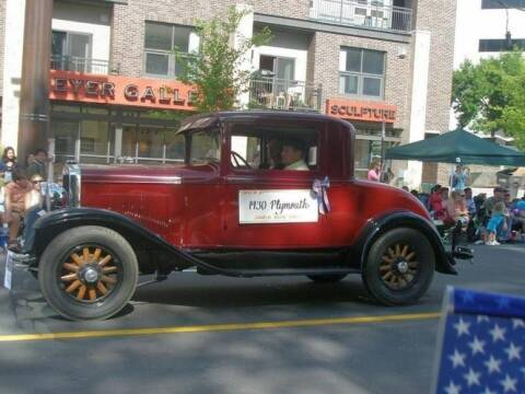 1930 Plymouth Business Coupe for sale at Classic Car Deals in Cadillac MI