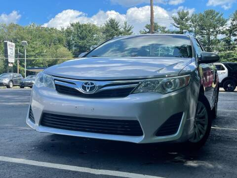 2012 Toyota Camry for sale at MAGIC AUTO SALES in Little Ferry NJ
