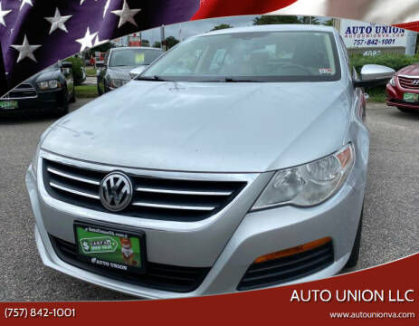 2012 Volkswagen CC for sale at Auto Union LLC in Virginia Beach VA