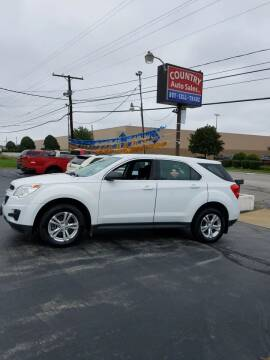 2011 Chevrolet Equinox for sale at Country Auto Sales in Boardman OH