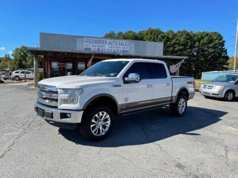 2015 Ford F-150 for sale at Greenbrier Auto Sales in Greenbrier AR