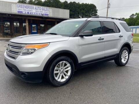 2015 Ford Explorer for sale at Greenbrier Auto Sales in Greenbrier AR