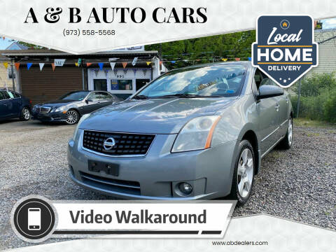 2008 Nissan Sentra for sale at A & B Auto Cars in Newark NJ