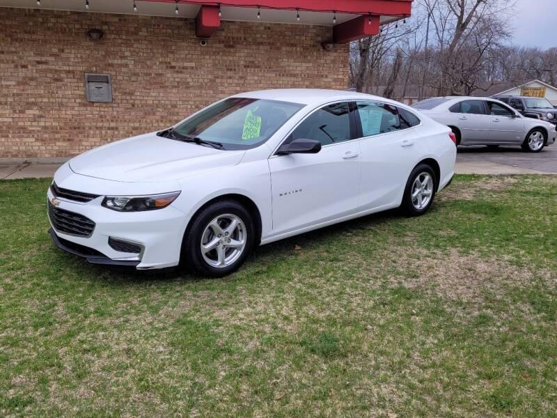 2016 Chevrolet Malibu for sale at Murdock Used Cars in Niles MI
