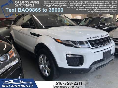 2017 Land Rover Range Rover Evoque for sale at Best Auto Outlet in Floral Park NY