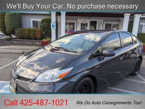 2013 Toyota Prius for sale at Platinum Autos in Woodinville WA