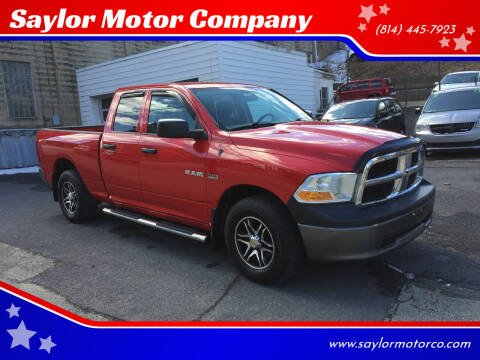 2010 Dodge Ram Pickup 1500 for sale at Saylor Motor Company in Somerset PA