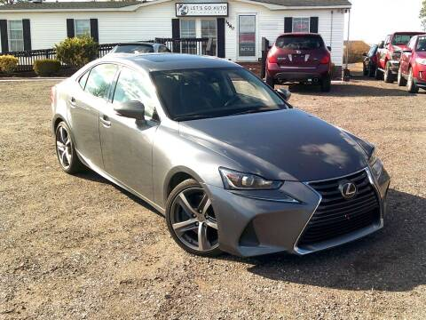 2017 Lexus IS 300 for sale at Let's Go Auto Of Columbia in West Columbia SC