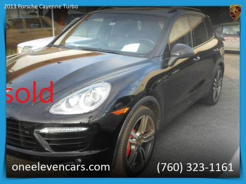 2013 Porsche Cayenne for sale at One Eleven Vintage Cars in Palm Springs CA