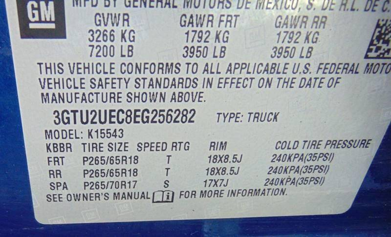 2014 GMC Sierra 1500 4x4 SLE 4dr Crew Cab 5.8 ft. SB - Waterbury CT