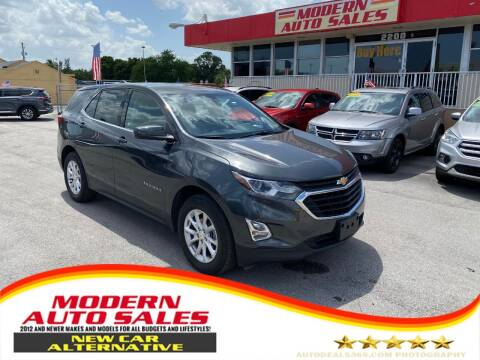 2020 Chevrolet Equinox for sale at Modern Auto Sales in Hollywood FL