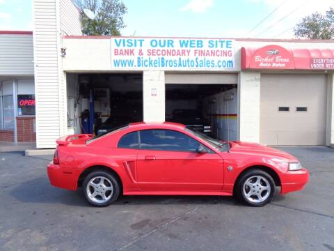 2004 Ford Mustang for sale at Bickel Bros Auto Sales, Inc in Louisville KY