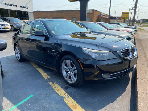 2009 BMW 5 Series for sale at Abrams Automotive Inc in Cincinnati OH