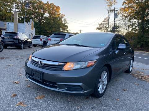 2012 Honda Civic for sale at Royal Crest Motors in Haverhill MA