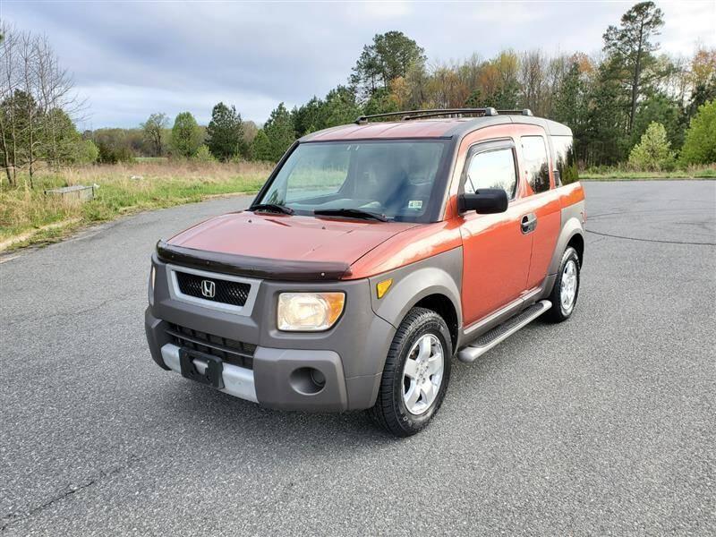 2003 Honda Element for sale at Apex Autos Inc. in Fredericksburg VA