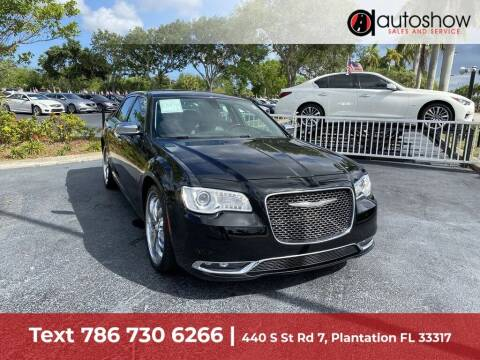 2016 Chrysler 300 for sale at AUTOSHOW SALES & SERVICE in Plantation FL