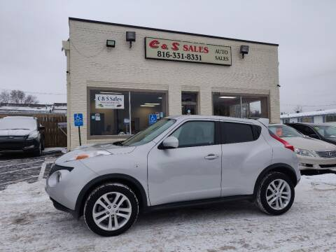 2014 Nissan JUKE for sale at C & S SALES in Belton MO