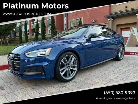 2019 Audi A5 Sportback for sale at Platinum Motors in San Bruno CA