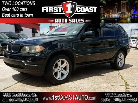 2006 BMW X5 for sale at 1st Coast Auto -Cassat Avenue in Jacksonville FL