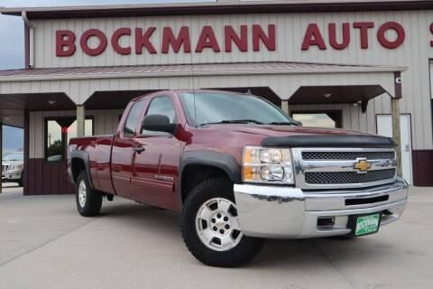 2013 Chevrolet Silverado 1500 for sale at Bockmann Auto Sales in Saint Paul NE