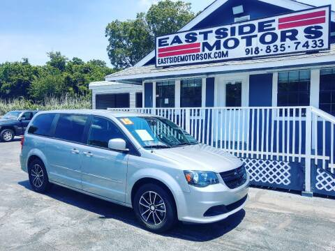 2015 Dodge Grand Caravan for sale at EASTSIDE MOTORS in Tulsa OK