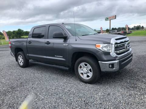 2017 Toyota Tundra for sale at RAYMOND TAYLOR AUTO SALES in Fort Gibson OK