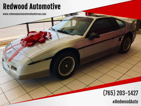 1986 Pontiac Fiero for sale at Redwood Automotive in Anderson IN