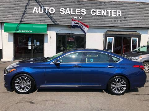 2015 Hyundai Genesis for sale at Auto Sales Center Inc in Holyoke MA