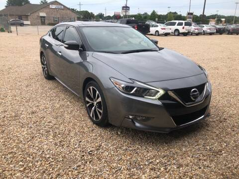 2018 Nissan Maxima for sale at Community Auto Specialist in Gonzales LA