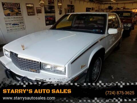1991 Cadillac Eldorado for sale at STARRY'S AUTO SALES in New Alexandria PA