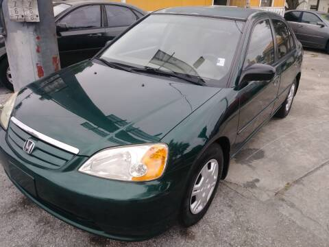 2002 Honda Civic for sale at U-Safe Auto Sales in Deland FL