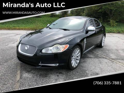 2009 Jaguar XF for sale at Miranda's Auto LLC in Commerce GA