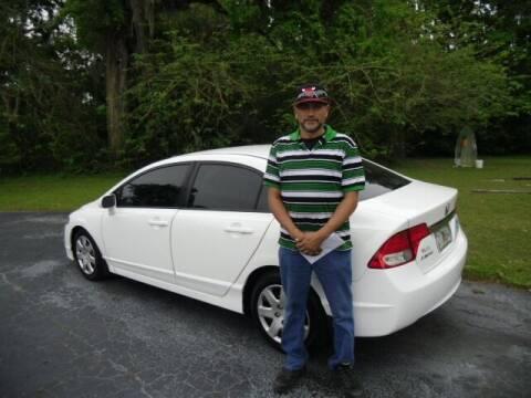 2010 Honda Civic for sale at HOGSTEN AUTO WHOLESALE in Ocala FL