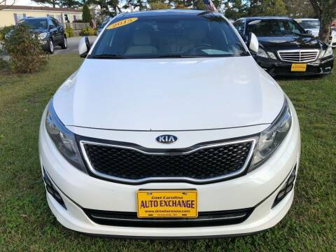2015 Kia Optima for sale at East Carolina Auto Exchange in Greenville NC