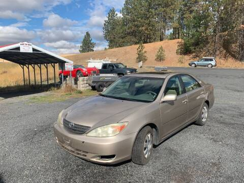 2004 Toyota Camry for sale at CARLSON'S USED CARS in Troy ID