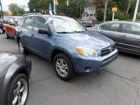 2007 Toyota RAV4 for sale at CAR CORNER RETAIL SALES in Manchester CT