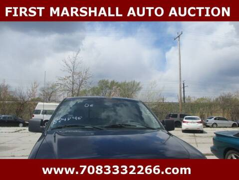 2006 Ford F-150 for sale at First Marshall Auto Auction in Harvey IL