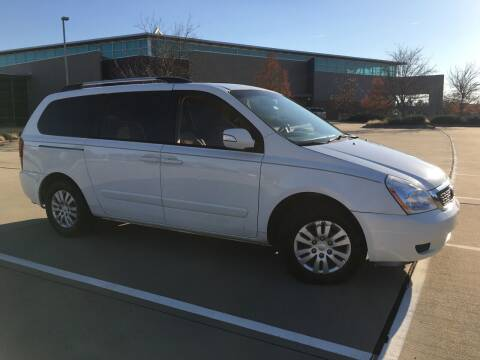 2012 Kia Sedona for sale at TETCO AUTO SALES  / TETCO FUNDING in Dallas TX