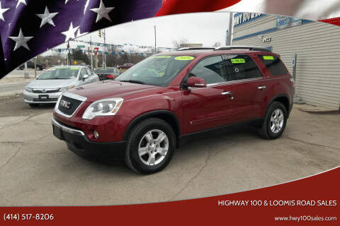 2009 GMC Acadia for sale at Highway 100 & Loomis Road Sales in Franklin WI