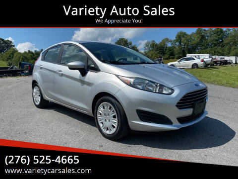 2015 Ford Fiesta for sale at Variety Auto Sales in Abingdon VA