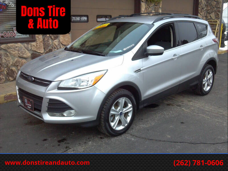 2013 Ford Escape for sale at Dons Tire & Auto in Butler WI