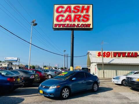 2008 Honda Civic for sale at www.CashKarz.com in Dallas TX